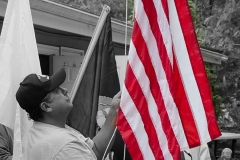 Raising Flag-